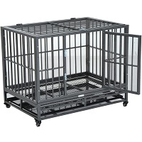 BEST HEAVY DUTY ROLLING DOG CRATE Summary