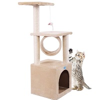 BEST INDOOR CAT TREE HOUSE summary