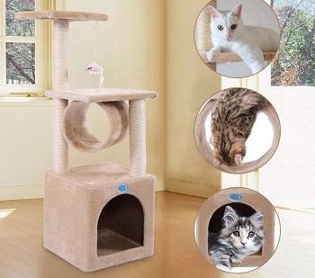 BEST INDOOR CAT TREE HOUSE