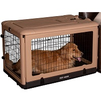 BEST INDOOR DOG CAGE WITH WHEELS Summary