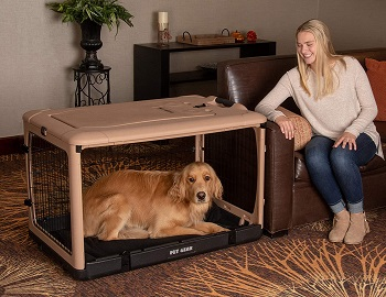 BEST INDOOR DOG CAGE WITH WHEELS