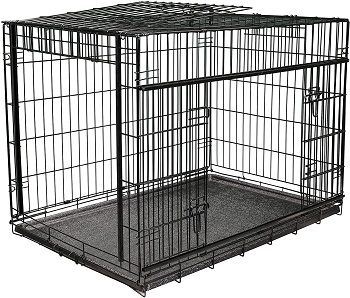 BEST INDOOR DOG CRATE FOR PITBULL