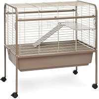 BEST INDOOR TWO STORY BUNNY CAGE summary