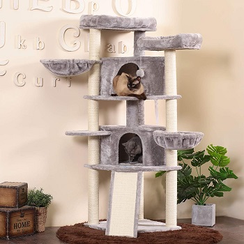 BEST KING SIZE CAT BED TOWER