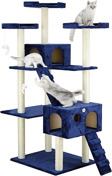 BEST LARGE BLUE CAT TREE