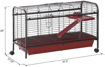 BEST LARGE BUNNY TRAVEL CAGE