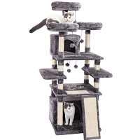 BEST LARGE CAT TREE WITH FOOD BOWL summary