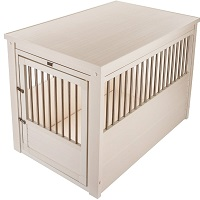 BEST LARGE DOG CRATE BEDSIDE TABLE Summary