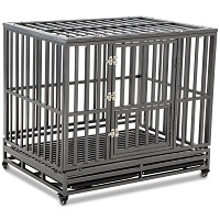 BEST LARGE HEAVY DUTY DOG CRATE FOR SEPARATION ANXIETY Summary
