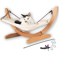 BEST LUXURY HANGING CAT BED WITH STAND summary