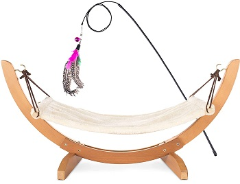 BEST LUXURY HANGING CAT BED WITH STAND