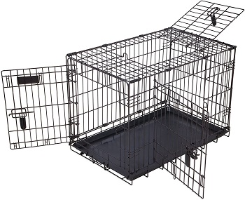 BEST MEDIUM CRATE DIVIDER PANEL WITH DOOR