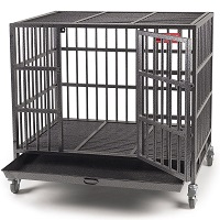 BEST MEDIUM HEAVY DUTY DOG CRATE FOR SEPARATION ANXIETY Summary
