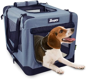 BEST MEDIUM SOFT FOLDABLE DOG CRATE