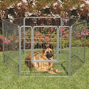 BEST METAL DOG CRATE AND PLAYPEN