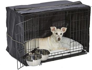 BEST METAL DOG TENT CRATE