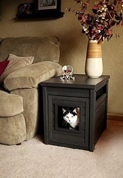 BEST MINIMALIST CAT TOWER WITH LITTER BOX