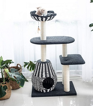 BEST MODERN BOHO CAT TREE