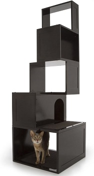 BEST MODERN BOOKSHELF CAT TOWER
