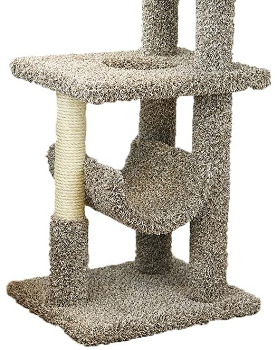 BEST MODERN CARPETED CAT TREE