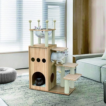 BEST MODERN CAT BED TOWER