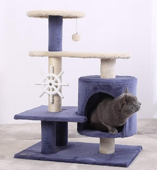 BEST MODERN CAT TREE FOR SMALL APARTMENT