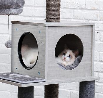 BEST MODERN LARGE CAT TREEHOUSE