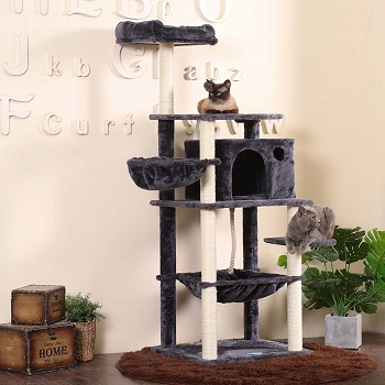 BEST MULTI-LEVEL CAT TREE FEEDER