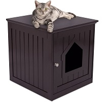 BEST MULTIFUNCTIONAL CAT TREE WITH LITTER BOX summary