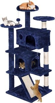 BEST OF BEST BLUE CAT TREE