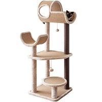 BEST OF BEST CARPETED CAT TREE summary