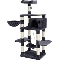 BEST OF BEST CAT TREE WITH FOOD STATION summary