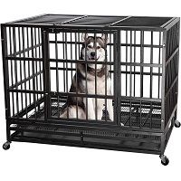 BEST OF BEST DOG CAGE WITH WHEELS Summary