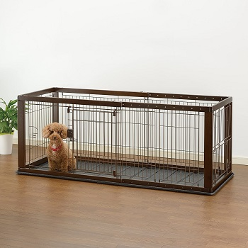 BEST OF BEST EXPANDABLE DOG CRATE