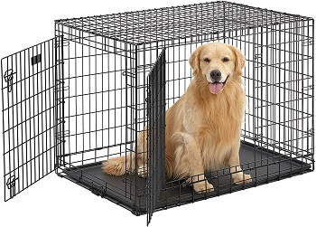 BEST OF BEST FOLDING METAL DOG CRATE