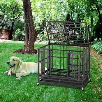 BEST OF BEST HEAVY DUTY METAL DOG CRATE