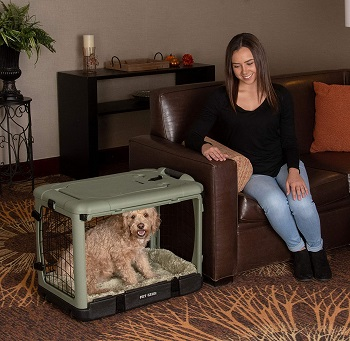 BEST PLASTIC DOG CRATE FOR SLEEPING