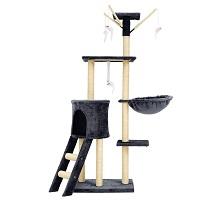 BEST PLAYGROUND CAT TOWER GREY summary