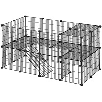 BEST PLAYPEN 2 STORY BUNNY CAGE summary