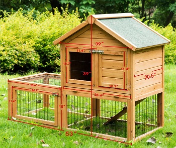 BEST PLAYPEN RABBIT HUTCH FOR TWO RABBITS