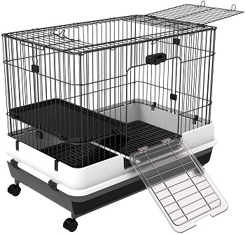 BEST SMALL 2 STORY BUNNY CAGE