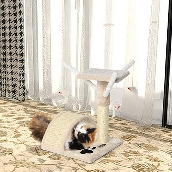 BEST SMALL CAT TOWER TOY