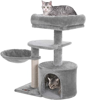 BEST SMALL CAT TREE FOR FAT CATS