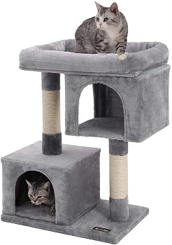 BEST SMALL CAT TREE FOR SMALL APARTMENT
