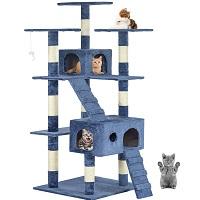 BEST TALL BLUE CAT TREE summary
