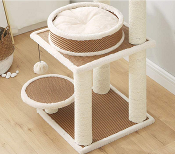 BEST TALL BOHO CAT TREE