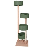 BEST TALL CARPETED CAT TREE summary