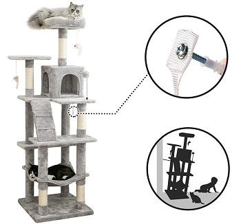 BEST TALL CAT TREE FOR FAT CATS
