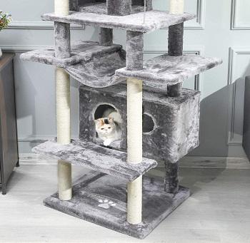 BEST TALL CAT TREEHOUSE