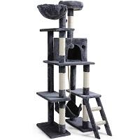 BEST TALL GRAY CAT TOWER summary
